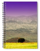 Black Mountains Az Spiral Notebook