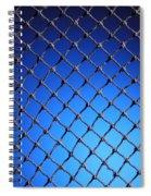 Black Net Spiral Notebook