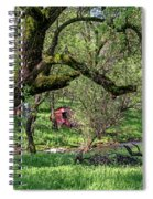 Black Oak And Creek Spiral Notebook