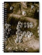 Black Ops Space Programs Spiral Notebook