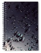 Black Rain Spiral Notebook