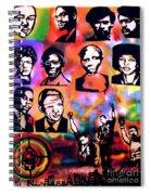 Black Revolution Spiral Notebook
