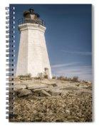 Black Rock Harbor Lighthouse II Spiral Notebook