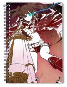 Black Rock Shooter Spiral Notebook