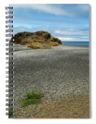 Black Sand Beach On The Lost Coast Spiral Notebook