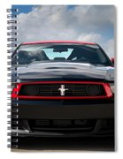 Black Stallion Spiral Notebook