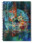 Black Sun Spiral Notebook