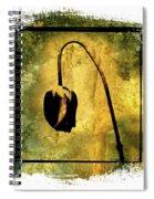 Black Tulip Spiral Notebook