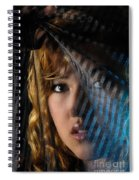 Black Veil Spiral Notebook