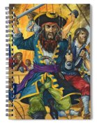 Blackbeard Spiral Notebook