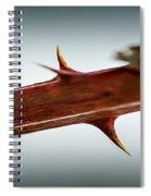 Blackberry Thorns Spiral Notebook