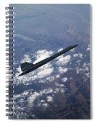 Blackbird Going Supersonic Spiral Notebook