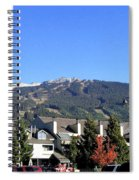 Blackcomb Mountain Spiral Notebook