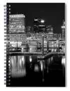 Blackness In The Harbor Spiral Notebook