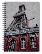 Blackpool Tower Spiral Notebook