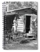 Blacksmith And Tool Shed Spiral Notebook