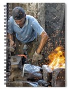 Blacksmith Spiral Notebook