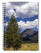 Blacktail Plateau Vertical Spiral Notebook