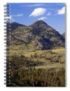 Blacktail Road Landscape 2 Spiral Notebook