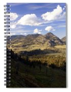 Blacktail Road Landscape Spiral Notebook