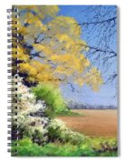 Blackthorn Winter Spiral Notebook