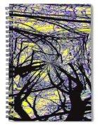 Blacky Bear Forest Spiral Notebook