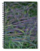 Blades Of Color Spiral Notebook