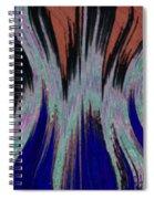 Blades Of Fire Spiral Notebook