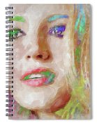 Blake Lively Watercolor Spiral Notebook
