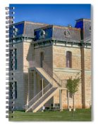 Blanco County Courthouse Spiral Notebook