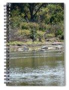Blanco River - Texas Spiral Notebook