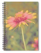 Blanket Flower Portrait Spiral Notebook