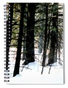 Blanketed In Snow Spiral Notebook