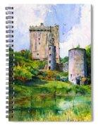 Blarney Castle Landscape Spiral Notebook