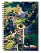 Blarney Castle Ruins In Ireland Spiral Notebook