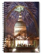 Blast In Saint Louis 1 Spiral Notebook