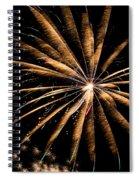 Blaze Of Glory Spiral Notebook