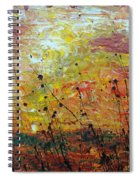 Blazing Prairie Spiral Notebook