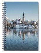 Bled Island Winter Dreams Spiral Notebook