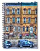 Bleecker Street In Bushwick - Brooklyn Spiral Notebook