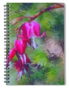 Bleeding Heart Spiral Notebook