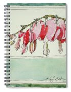 Bleeding Hearts II Spiral Notebook
