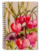 Bleeding Hearts Spiral Notebook
