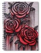 Bleeding Roses Spiral Notebook