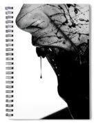 Bleeding Through Spiral Notebook