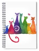 Blended Family Of Seven Spiral Notebook