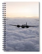Blenheim And The Fighters Spiral Notebook