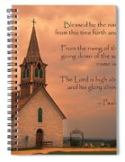 Bless The Lord Spiral Notebook