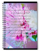 Blessed Are You Spiral Notebook