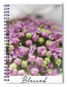 Blessed Spiral Notebook